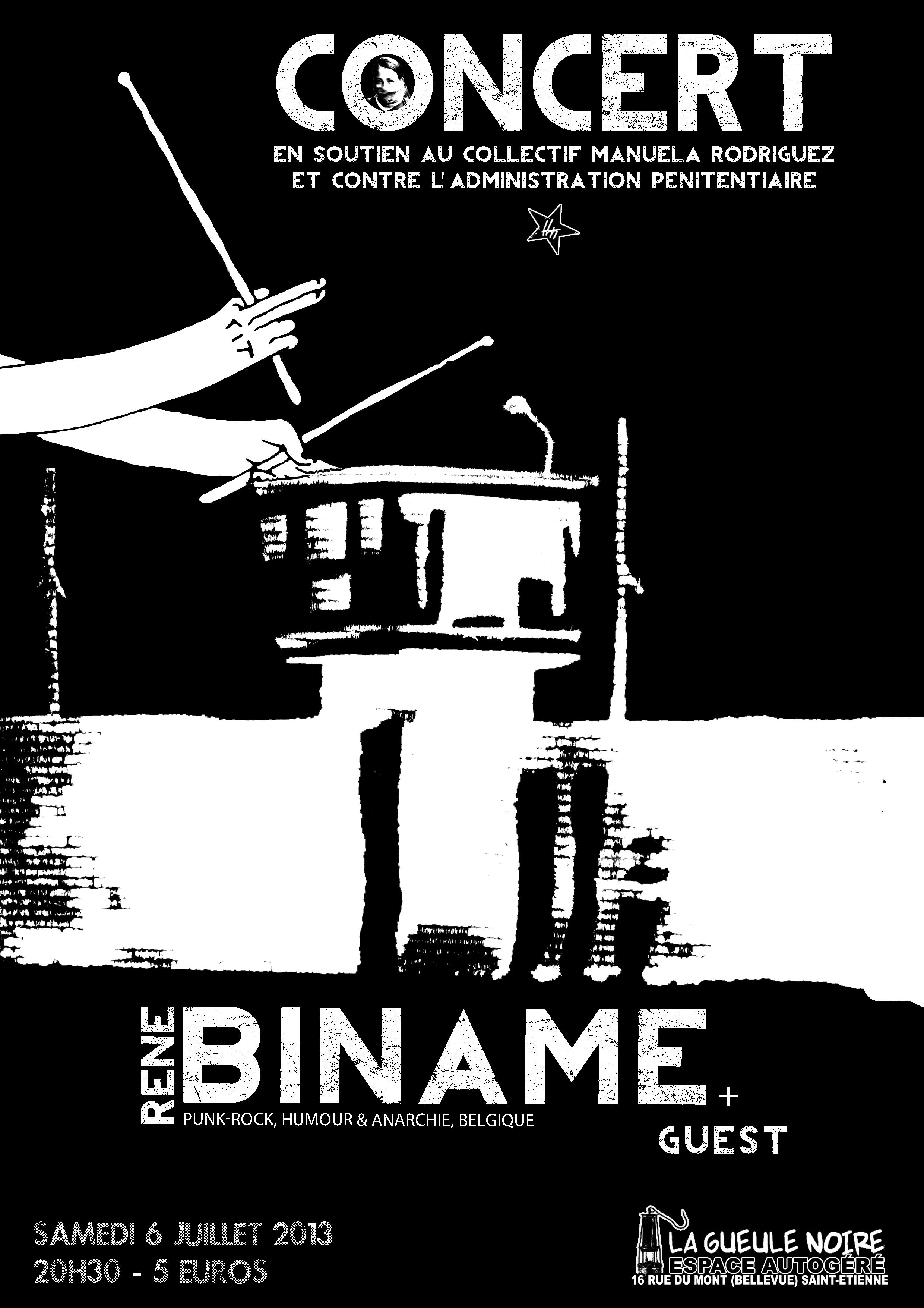 Concert Biname - 6 juillet 2013 - Saint Etienne
